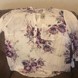 New size 0 Maurices dress shirt